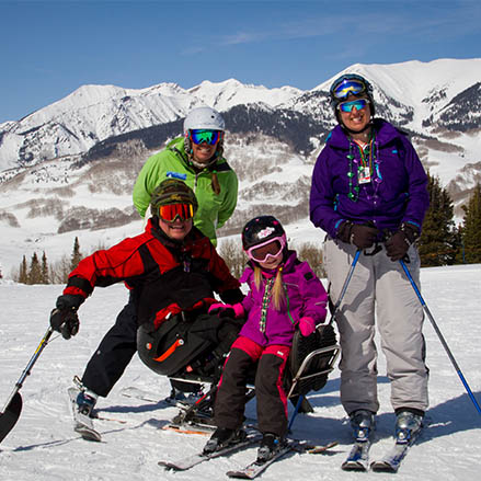 Adaptive Family Skiing