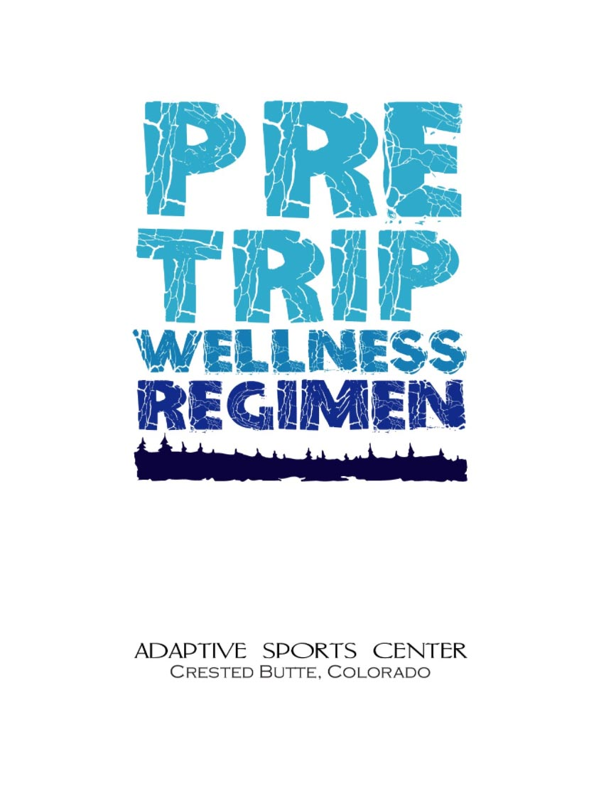 Pre Trip Wellness Regimen Book